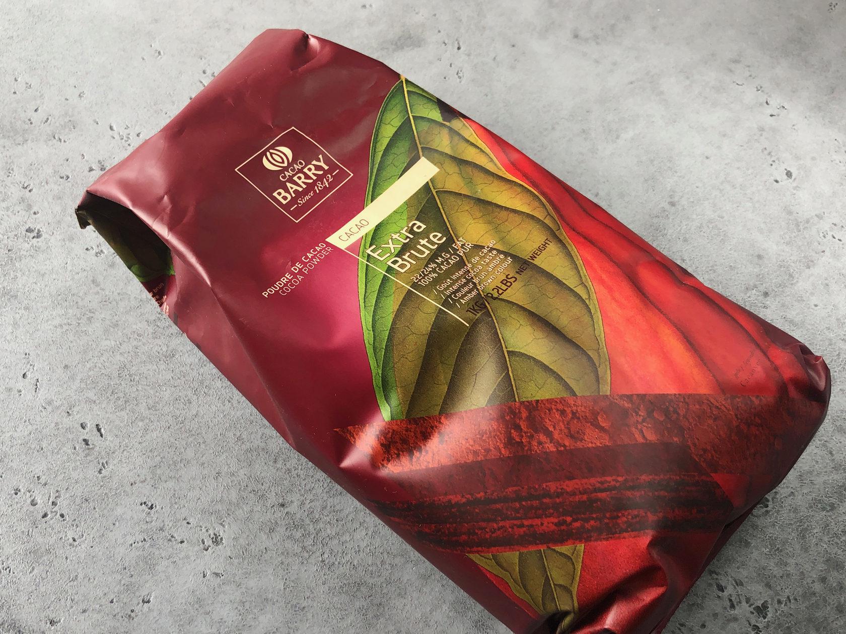Какао-порошок Cacao Barry Extra Brute, 1 кг