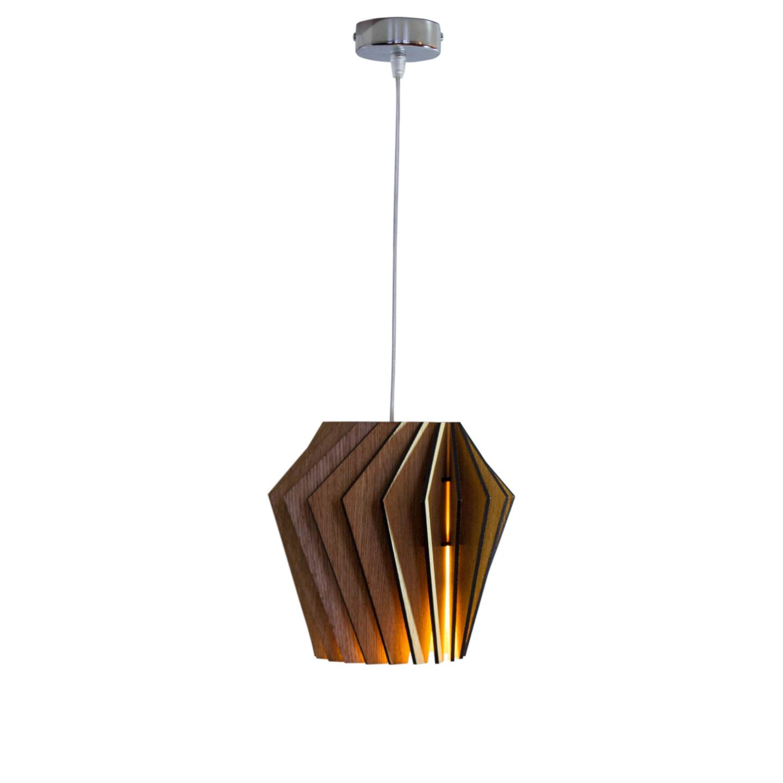 Подвесной светильник Woodled Турболампа, средний - вид 8