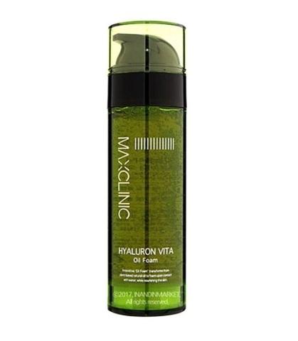 Maxclinic max charge Hyaluronic acid vita oil foam cleanser