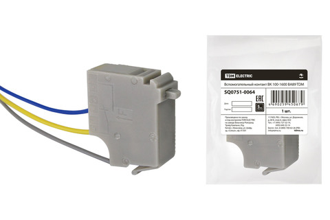 Вспомогательный контакт ВК 100-1600 ВА89 TDM