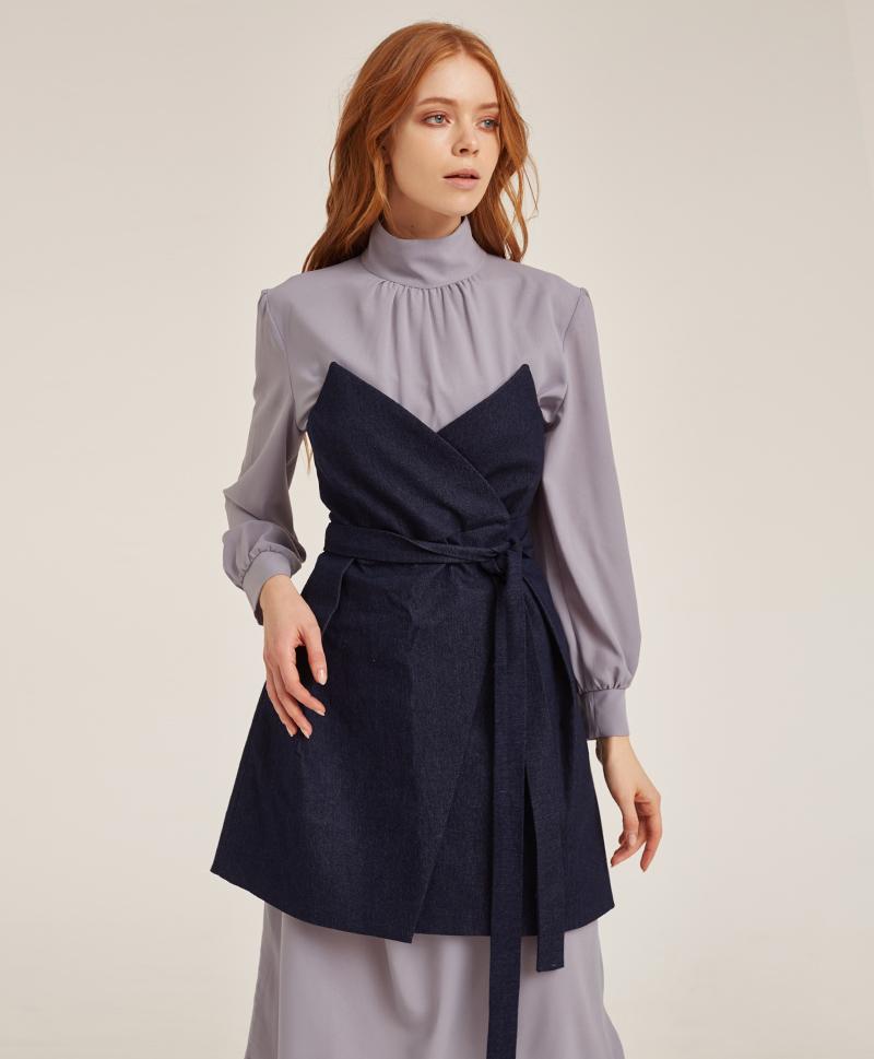 платье-корсет-из-синего-денима