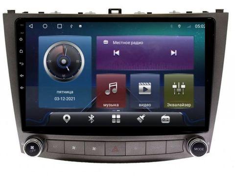 Магнитола Lexus IS250 2005-2013 (XE20) Android 10 4/64 IPS DSP 4G модель CB-2122TS10