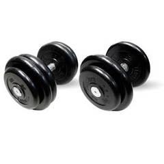 Гантели профессиональные неразборные 11 кг 2 пары.