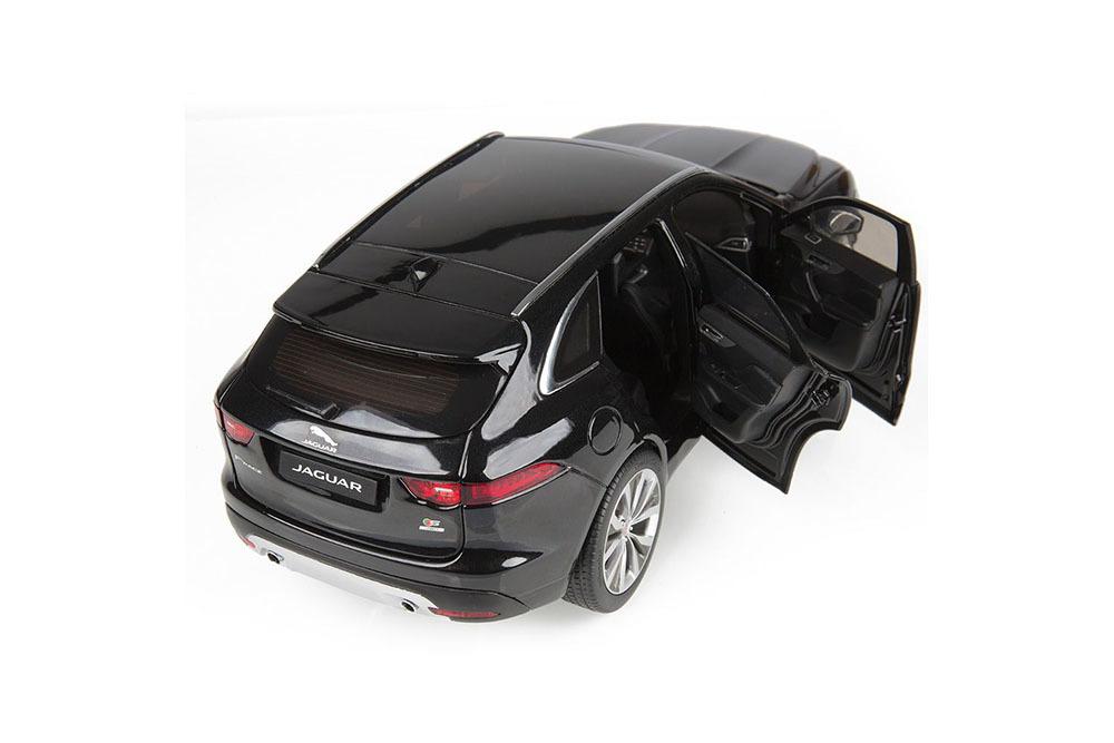 Коллекционная модель JAGUAR F-PACE 2018 ULTIMATE BLACK