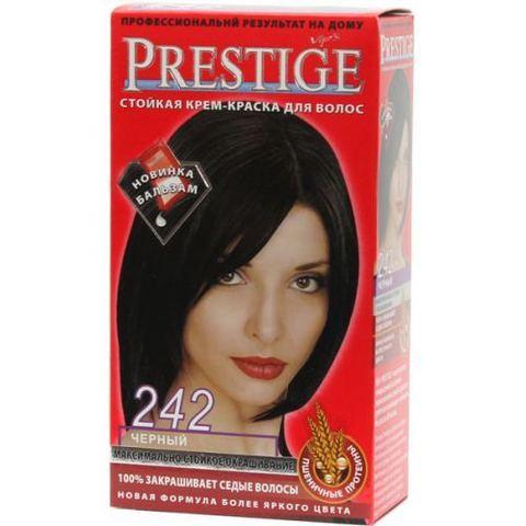 Краска для волос Prestige  242 - Черный, 50/50 мл.