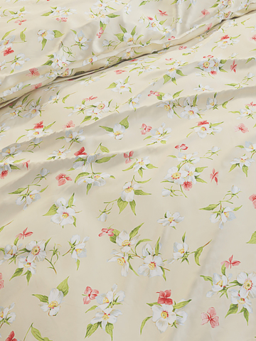 Простынь на резинке  -Жасмин- натяжная 120х200х26 см 1,5-спальная