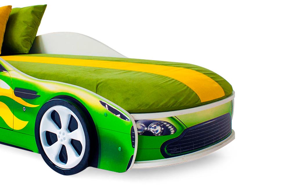 Чехол зеленый для матраса «Бондмобиль»