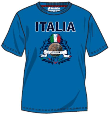 Футболка LOTTO CLUP-NATIONS ITA N7185