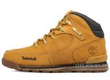 Мужские Ботинки Timberland Euro Sprint Waterproof Yellow С Мехом