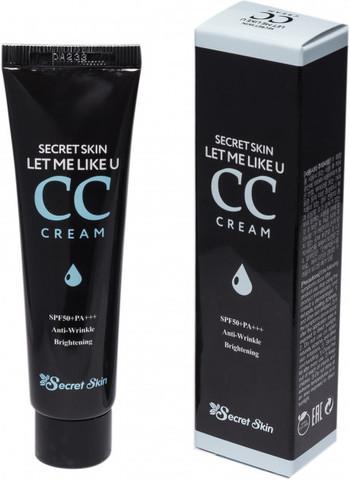 Крем CC выравнивающий тон Secret Skin