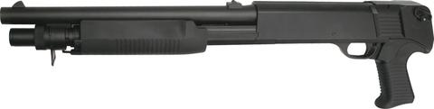 Страйкбольный дробовик Franchi SAS 12 (3 шара/выстрел), пружинный, пластик, 30 ВВ (артикул 16261)