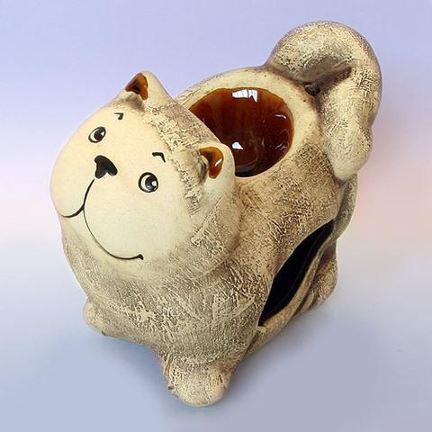 Аромалампа Кот шликер h-12cm L-15cm