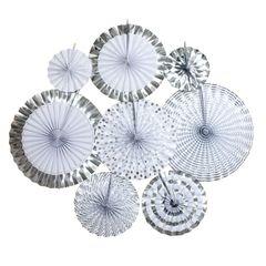 Фанты набор Серебро ассорти, 8шт, 1уп.