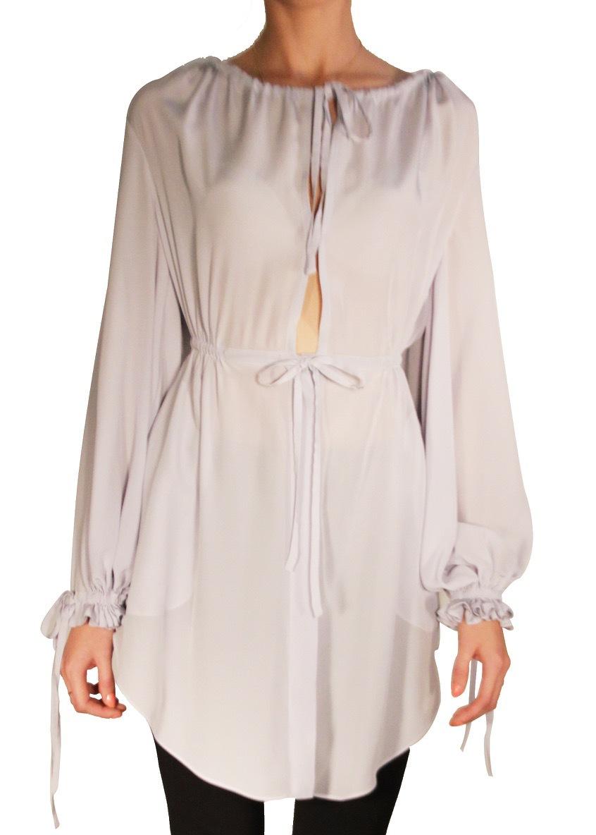 Платье-рубашка ALEXANDER MCQUEEN
