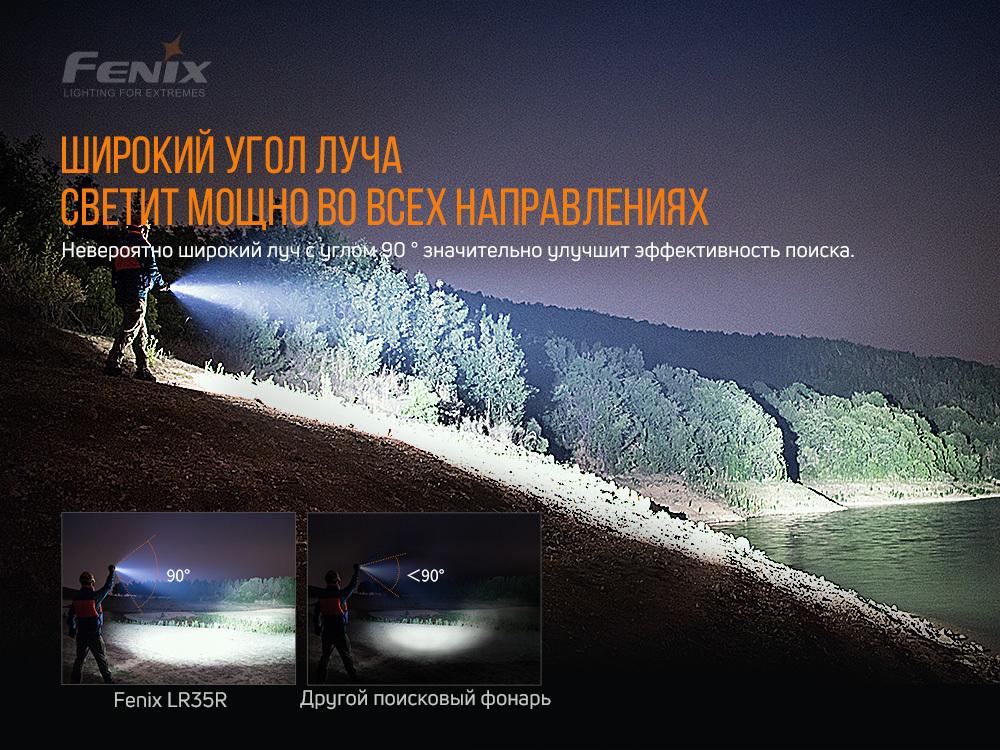 Фонарь Fenix LR35R - фотография