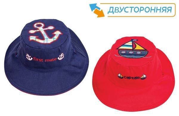 Панама Flapjackkids Лодка/Якорь (Sailboat/Anchor LUV0130S) S (0,5-2). Арт. 52000