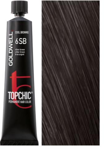 Goldwell Topchic 6SB серебристо-коричневый TC 60ml