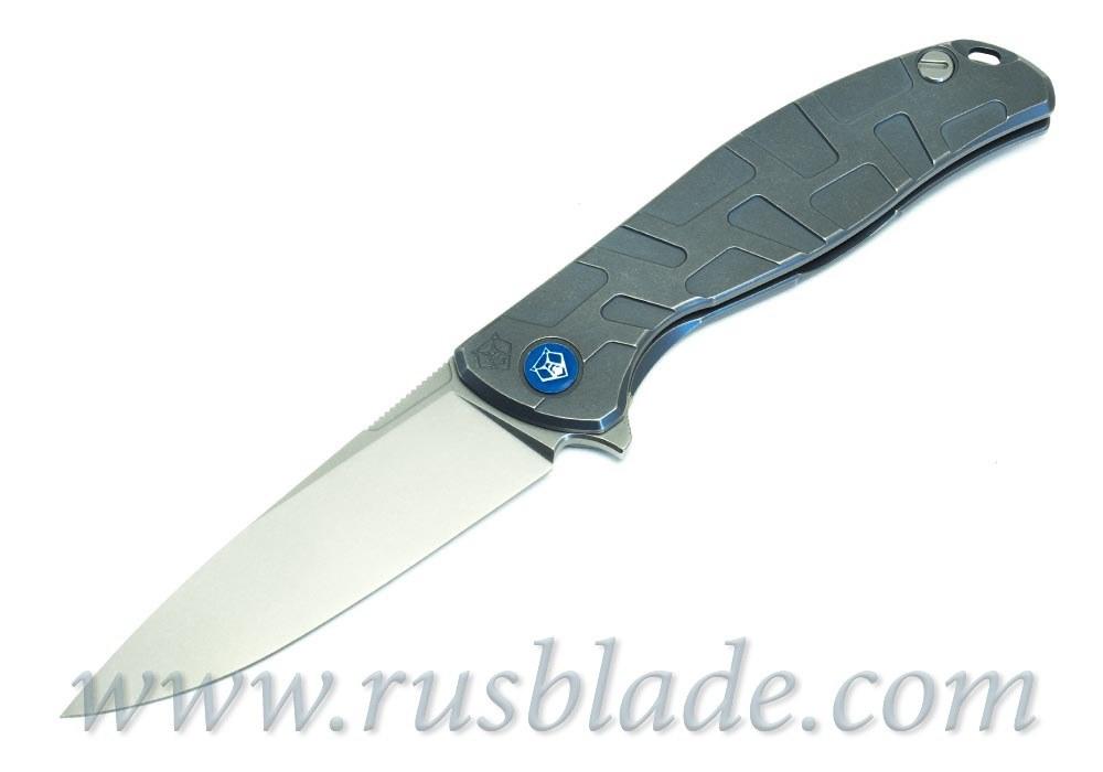 2019 Shirogorov Flipper 95 M390 T-mode As blue MRBS - фотография