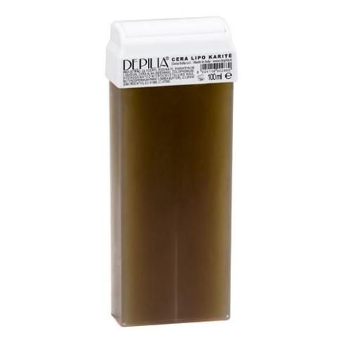 Depilia Воск для депиляции «Karite» с маслом Ши, 100 гр.