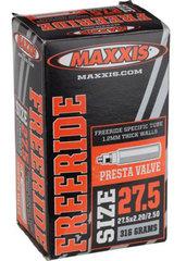 """Велокамера Maxxis Freeride 27,5"""" 2,2/2,5 автониппель - 2"""