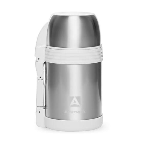 Термос универсальный для еды и напитков Арктика (205-1000) 1 литр с широким горлом, стальной