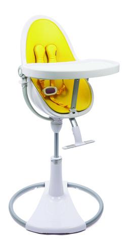 Стульчик Bloom Fresco Chrome White Canary Yellow