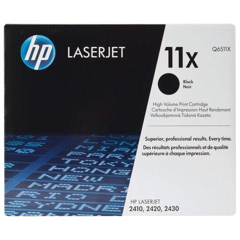 Оригинальный картридж HP Q6511X 11X черный