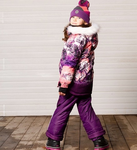 Детский зимний комплект Deux par Deux для девочки