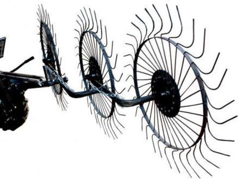Грабли ворошильные Скаут PL-3600 для минитрактора и мотоблока