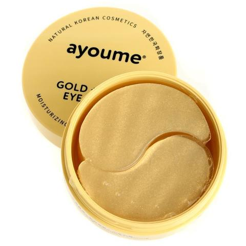 Патчи для глаз с золотом и улиточным муцином Ayoume Gold + Snail Eye Patch