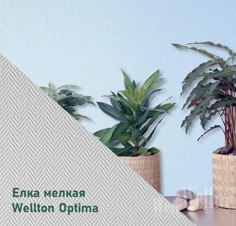 Стеклообои Wellton Optima WO116 Елка мелкая