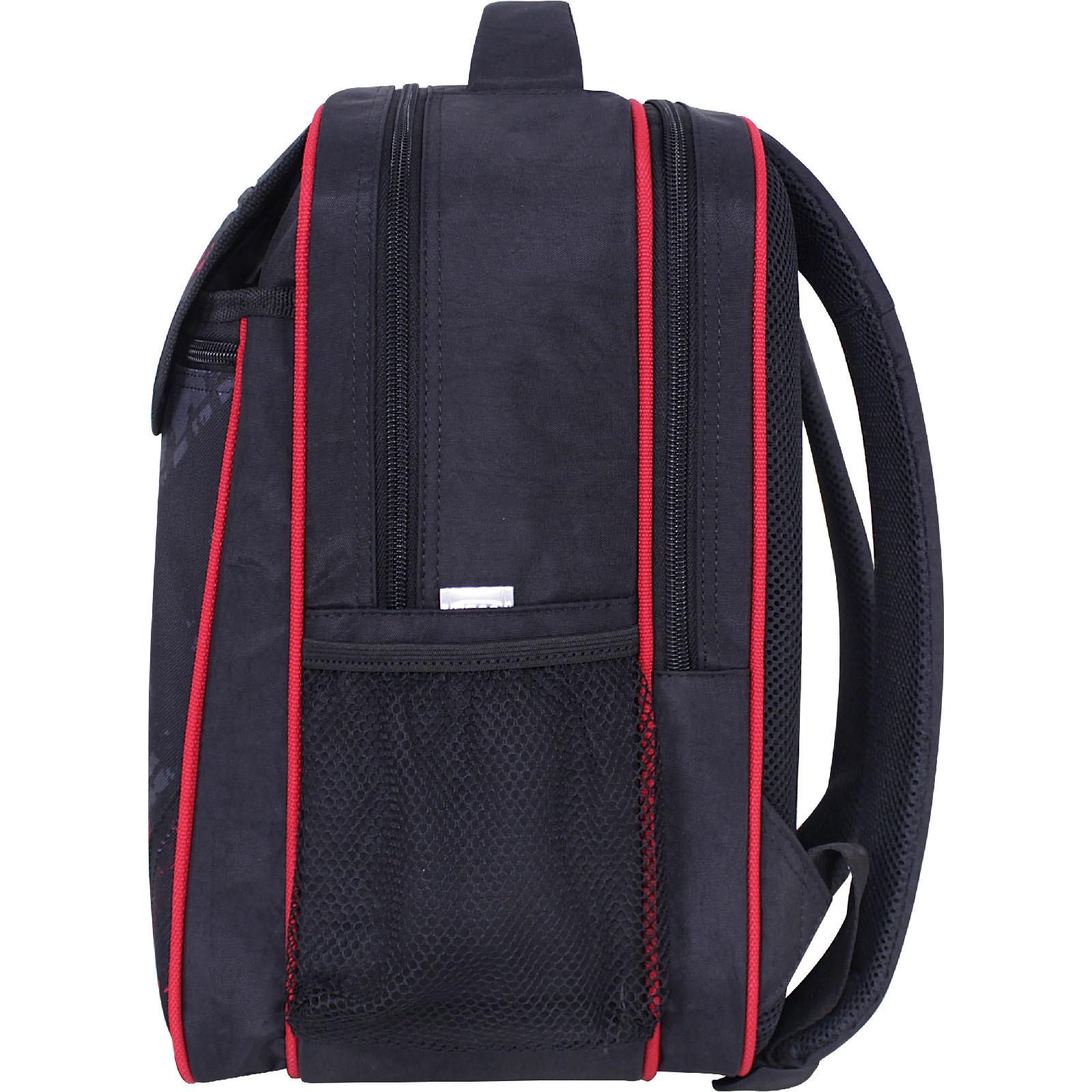Рюкзак школьный Bagland Отличник 20 л. черный 907 (0058070)