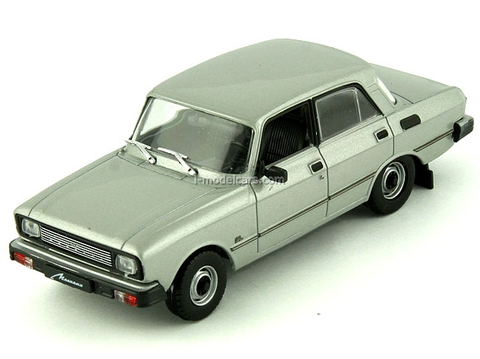 Moskvich-2140SL silver 1:43 DeAgostini Auto Legends USSR #67