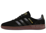 Кроссовки Мужские Adidas Spezial Shadow Black