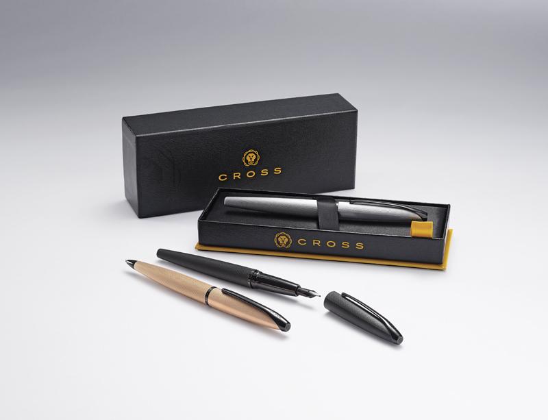 Cross ATX - Brushed Chrome, шариковая ручка