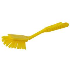Щетка для мытья посуды Hillbrush средней жесткости 270 мм желтая