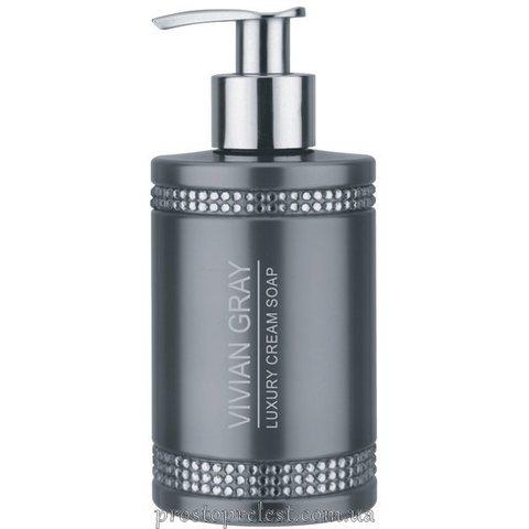 Vivian Gray Grey Crystal Luxury Cream Soap - Рідке крем-мило