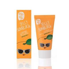 Солнцезащитное средство Qyo Qyo Tangerine Bright + Moist Jelly Sun Block SPF40 PA++ 50ml