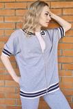Модный костюм с эластичным люрексом Luna di Giorno