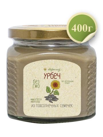 Урбеч из семян подсолнечника, 230 / 400 г