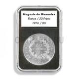 Прямоугольные капсулы EVERSLAB для монеты диаметром 20 mm