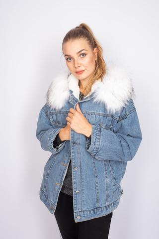 зимняя джинсовая куртка с мехом интернет-магазин