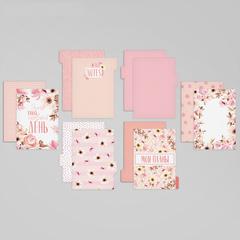 Набор картонных разделителей для планера «Нежность», 16 × 21, 6 листов
