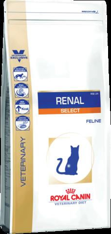 Royal Canin Renal Select RSE 24 для кошек с пониженным аппетитом при ХПН