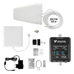 Комплект усиления сотовой связи VEGATEL VT-1800-kit (дом, LED)
