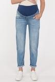 Джинсы для беременных (BOYFRIEND) 11670 светло-синий