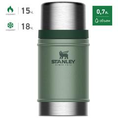Термос для еды Stanley Classic Food 0.7L Темно-Зеленый (10-07936-003) - 2
