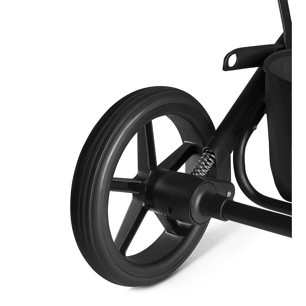Прогулочная коляска Cybex Balios S DENIM Smoky Anthracite с дождевиком