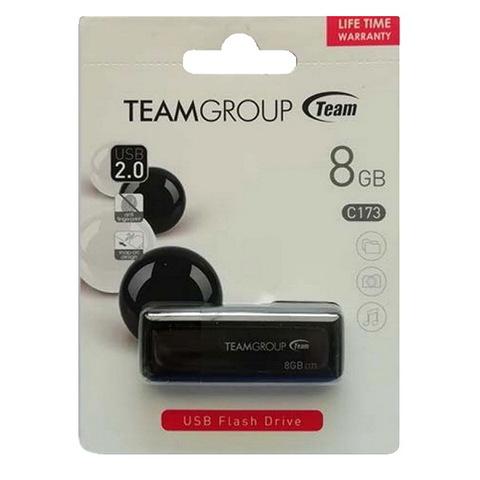 Накопитель Team C173 8GB USB 2.0 Pearl Black (TC1738GB01)