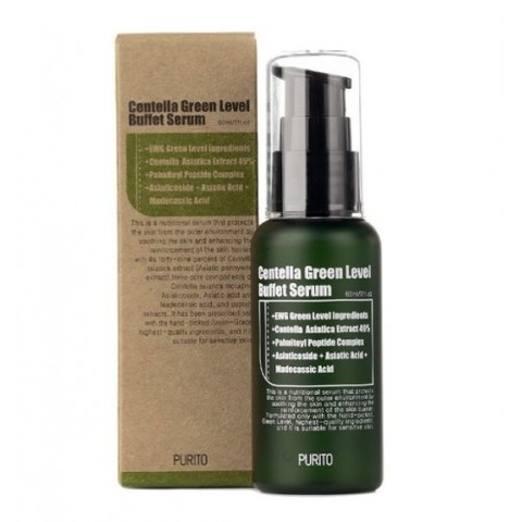 Purito Centella Green Level Buffet Serum увлажняющая сыворотка для восстановления кожи с центеллой